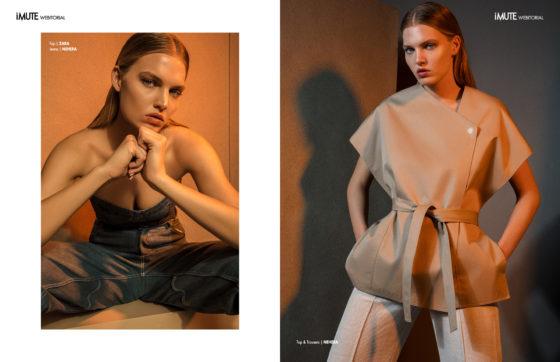TEMPERATE webitorial for iMute Magazine Photographer   Tomas Thurzo Model   Kristina K. @ Exit Model Management Stylist   Dominika Svetikova Makeup & Hair   Alena Zahorska