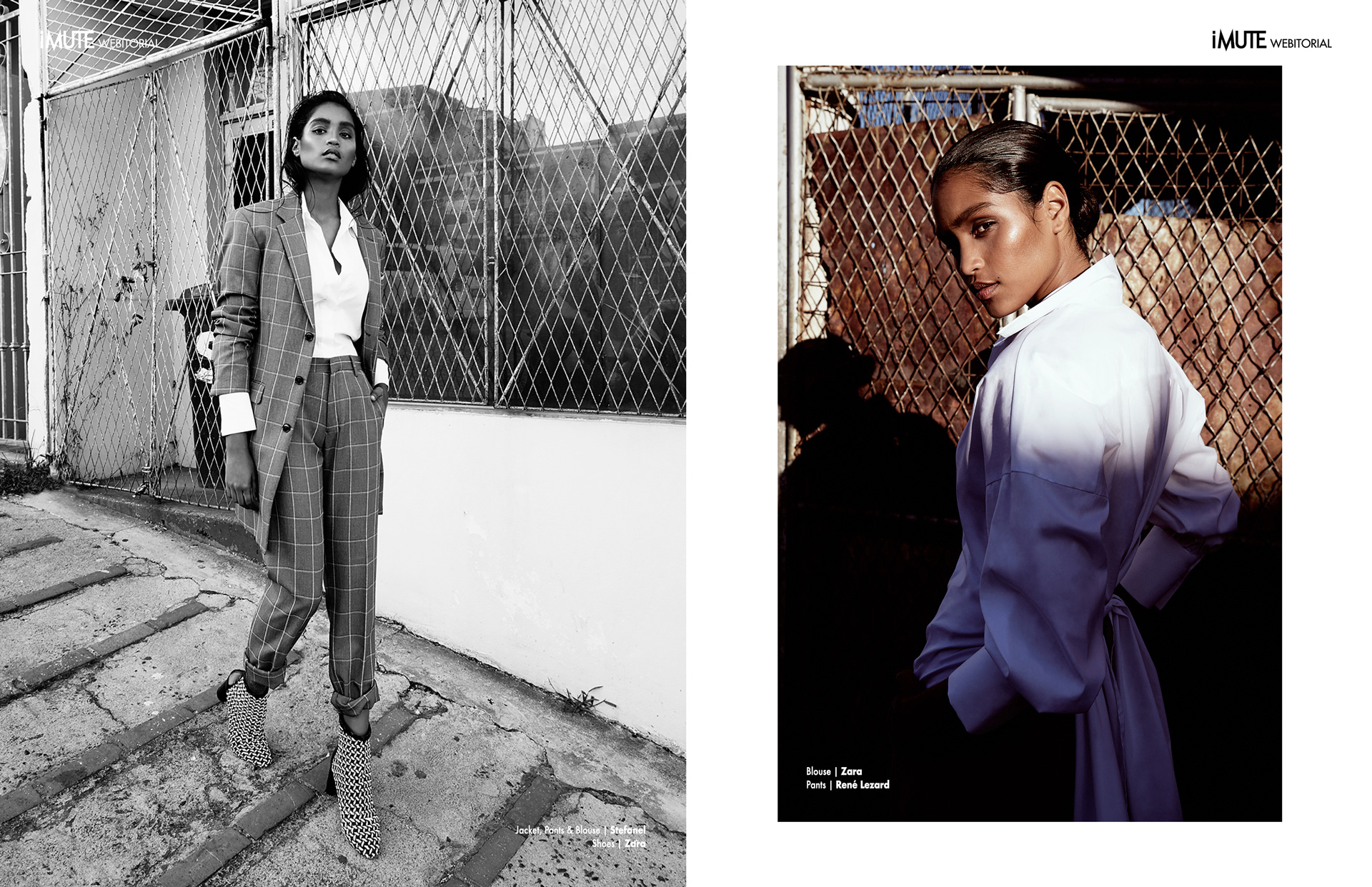 DONNA DO MORRO webitorial for iMute Magazine Photographer | Maddy Grace Model | Robyn @ 20 Model Management Makeup & Hair | Vanessa Walkalla Photo Assistant | Laura Palm