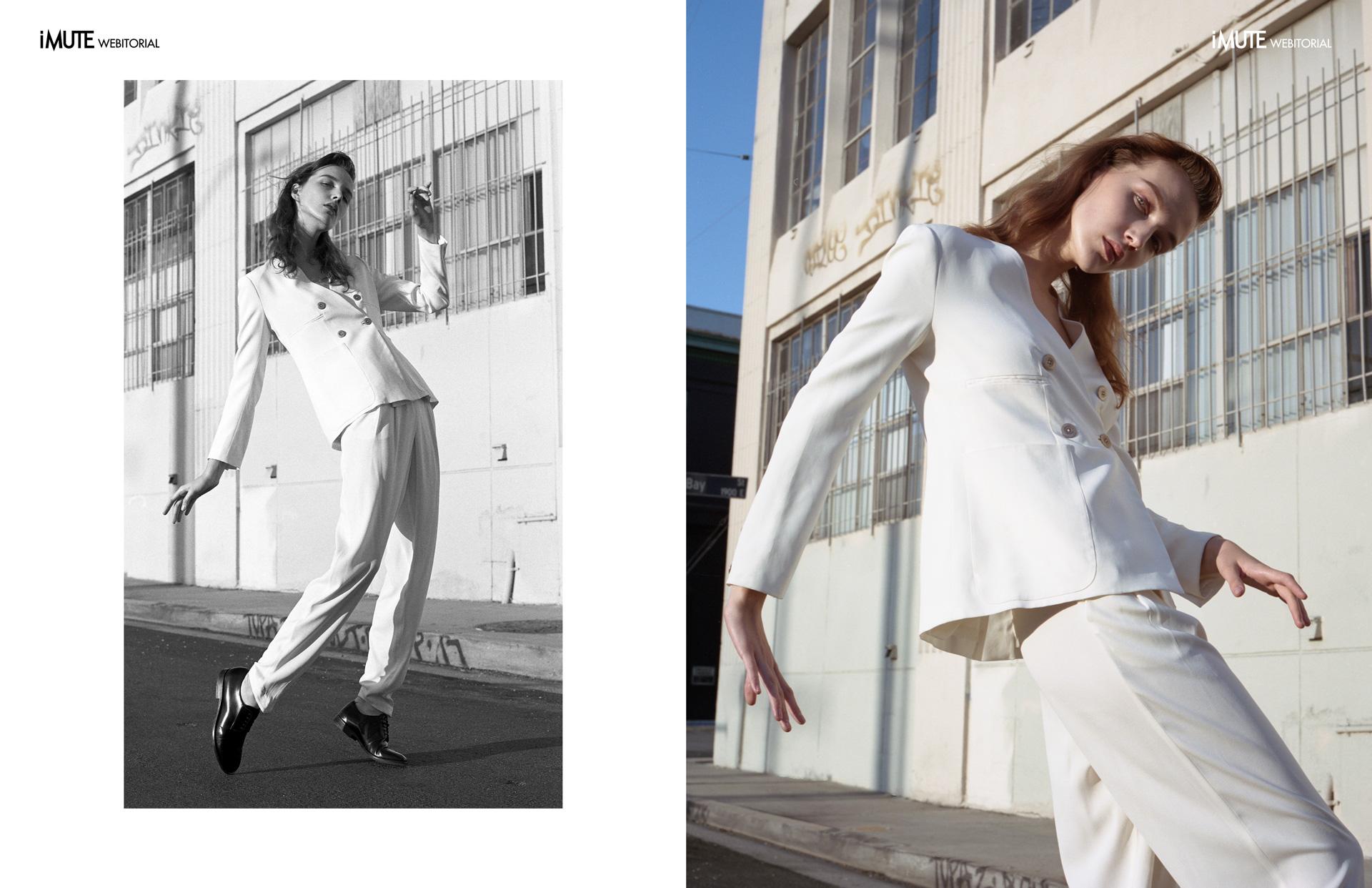 Anastasia webitorial for iMute Magazine Photographer|Dylan Kronen Model| Anastasia Muray @Photogenics Stylist|Caitlin Eucker @ WilhelminaArtists Make up| Megumi Asai Hair| Diane Dusting