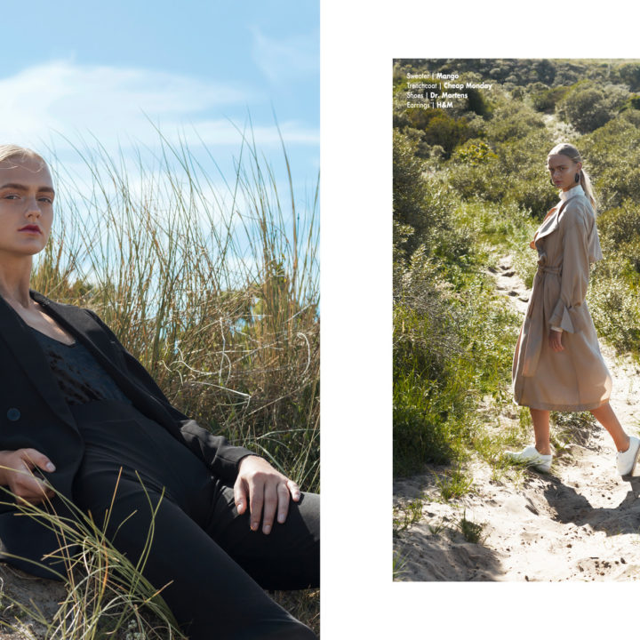 Blue Sky webitorial for iMute Magazine Photographer|Klaudia Molenda Model| Elynne Keizer @De Boekers Stylist|Willeke Elisabeth Makeup & Hair| Fatima Ribeiro
