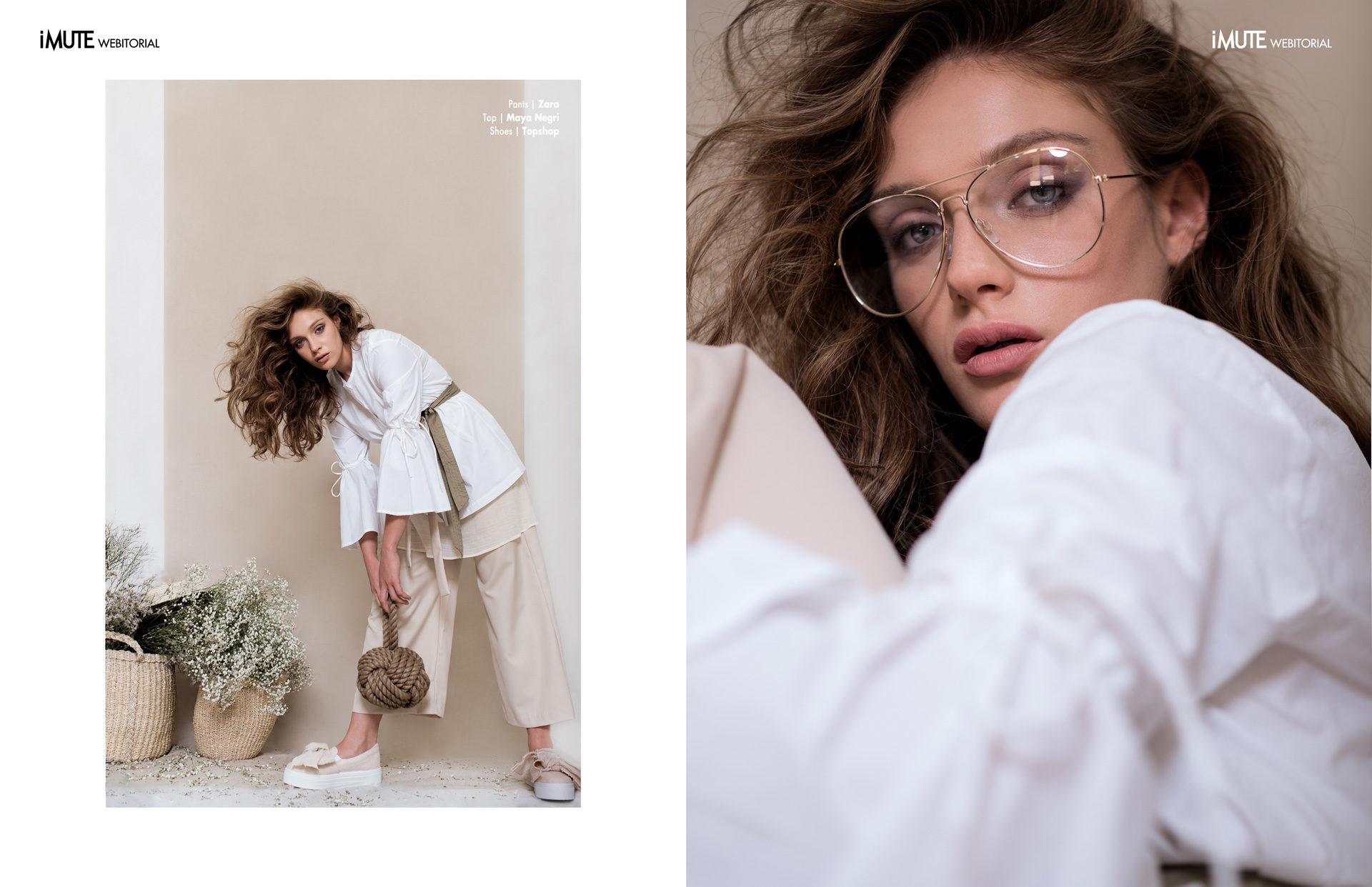 Romi webitorial for iMute Magazine Photographer|Tal Brushel Model| Romi Pavoncello @ITM Models Israel Stylist|Anna Karpunov Makeup & Hair|Gitla Brushel