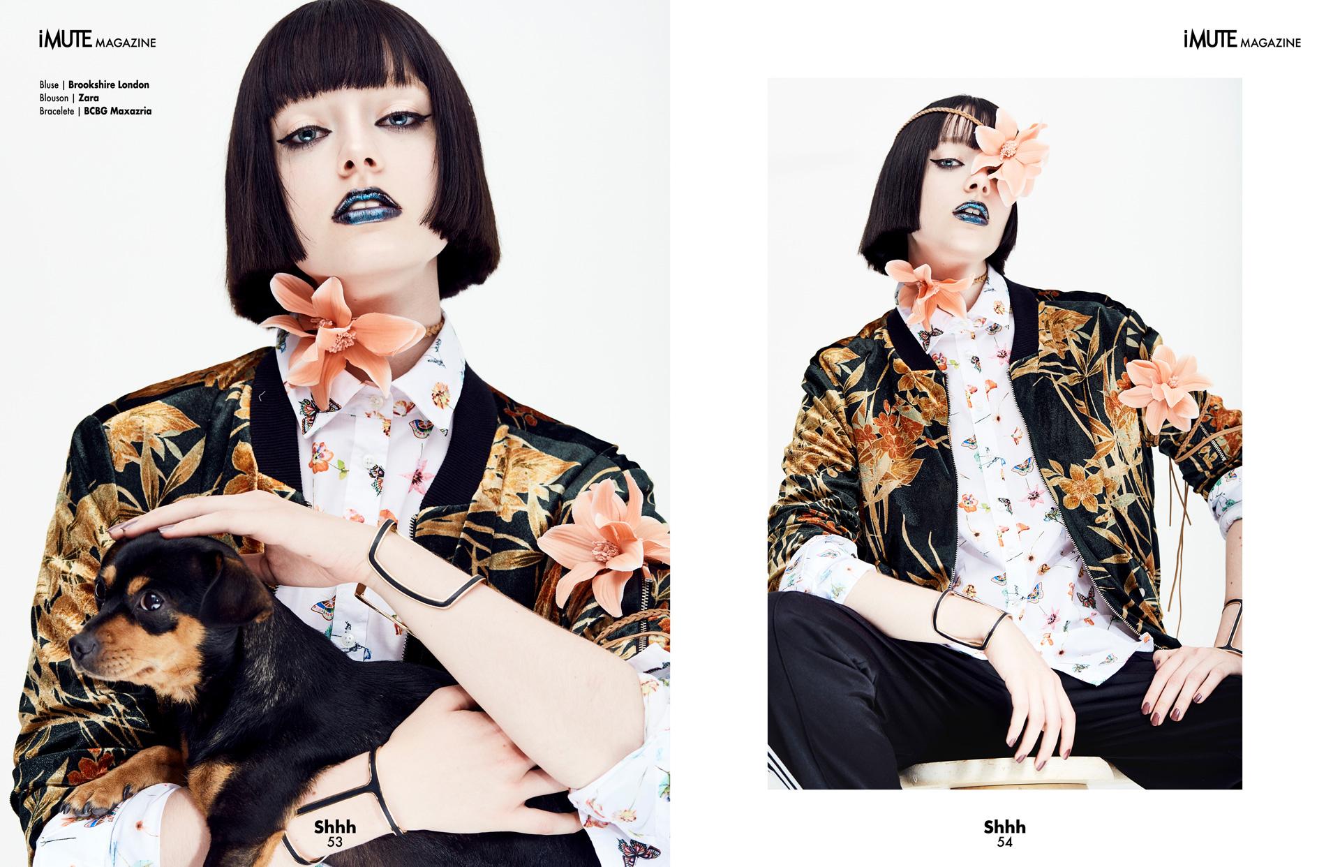 The Florist | iMute Magazine #19 | Summer Issue Photographer|Reza Norifarahani Models| Anja Abraham @ MD Management Stylist|Julia Dorothee Müller @ Bigoudi Makeup| Slavica Pavlovic