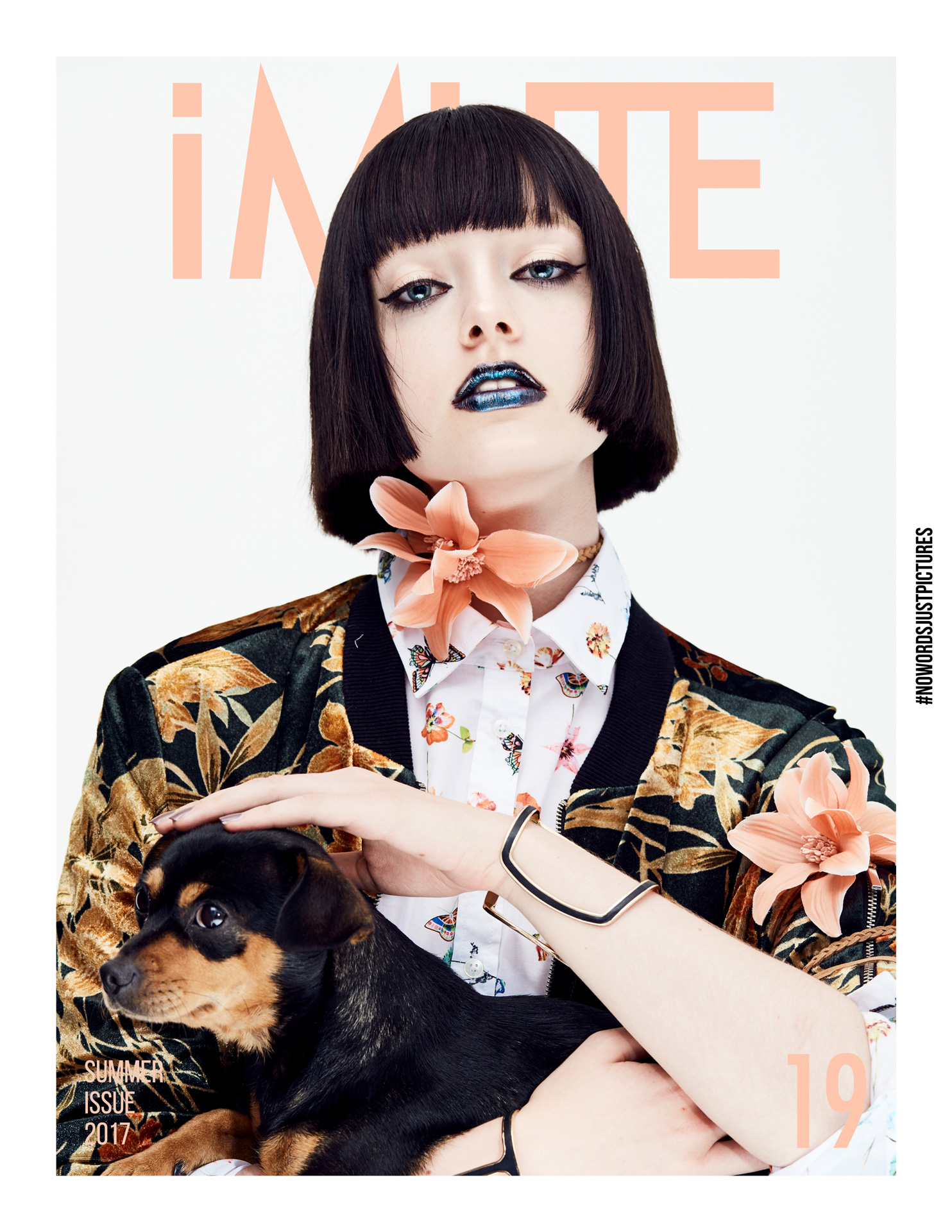 The Florist | iMute Magazine #19 | Summer Issue Photographer | Reza Norifarahani Models | Anja Abraham @ MD Management Stylist | Julia Dorothee Müller @ Bigoudi Makeup | Slavica Pavlovic