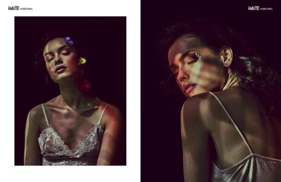 kiss of youth webitorial for iMute Magazine Photographer|Dominika Rutkowska Models| Caro Niemiec & Krysia Ziółek @Specto Models Makeup|Magda Jezierska