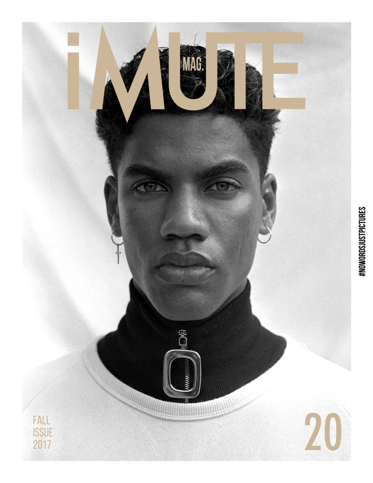 Cover iMute Magazine Fall Issue no 20 Photographer|Gemma Shepherd Model| Nicolas Van Graan @ 20 Management Stylists|Imran Mohamed & Rebecca Odendaal