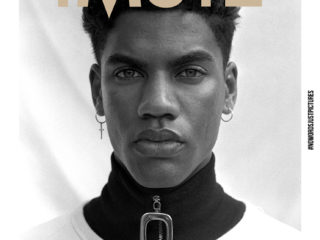 Cover iMute Magazine Fall Issue no 20 Photographer | Gemma Shepherd Model | Nicolas Van Graan @ 20 Management Stylists | Imran Mohamed & Rebecca Odendaal