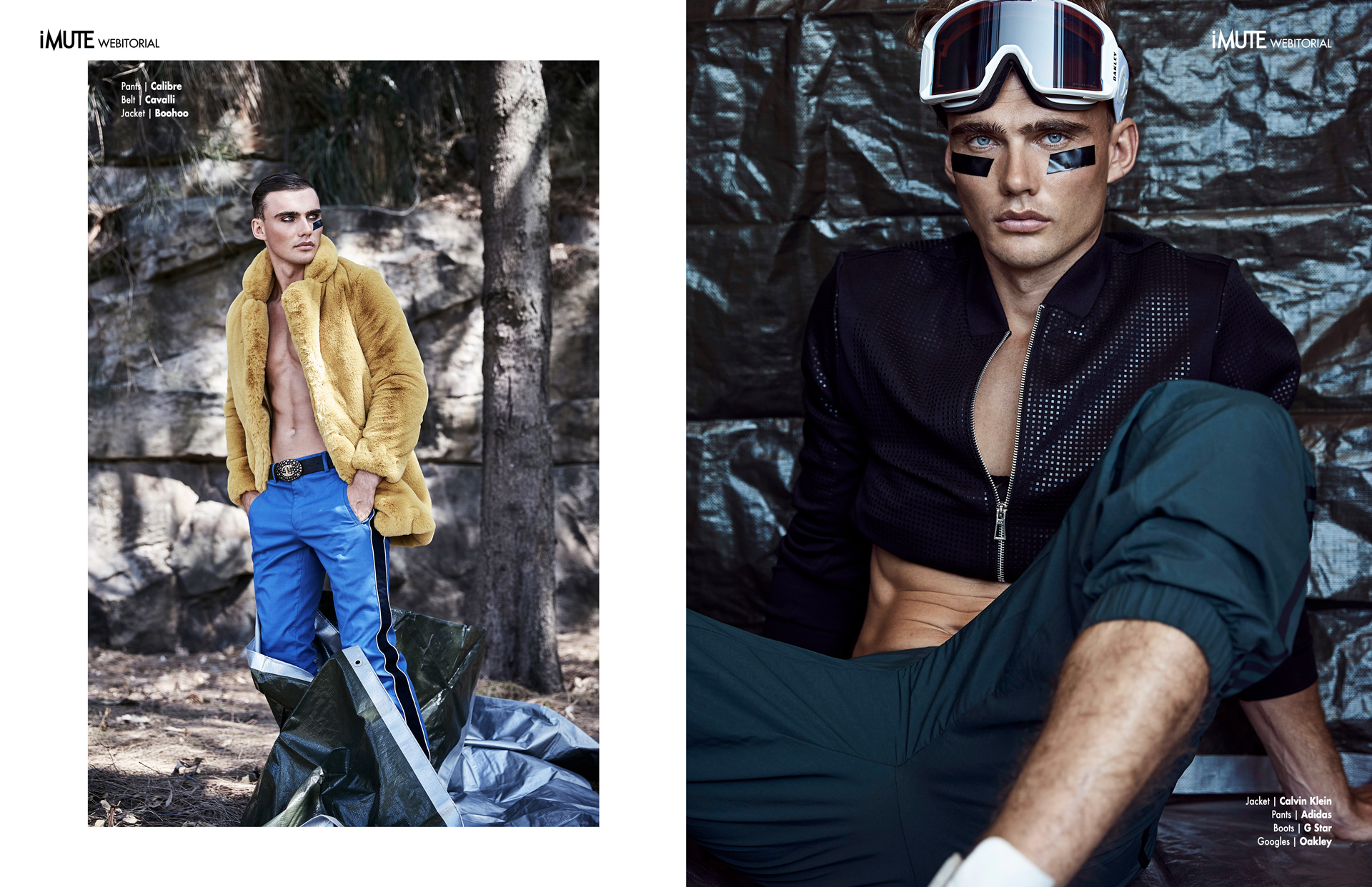 JOURNEYMAN webitorial for iMute Magazine Photographer Peter Brew Bevan @ work:agency Model  Jordan Barron @Chic Management Stylist Emma Cotterill Grooming Chris Arai @ Talentland