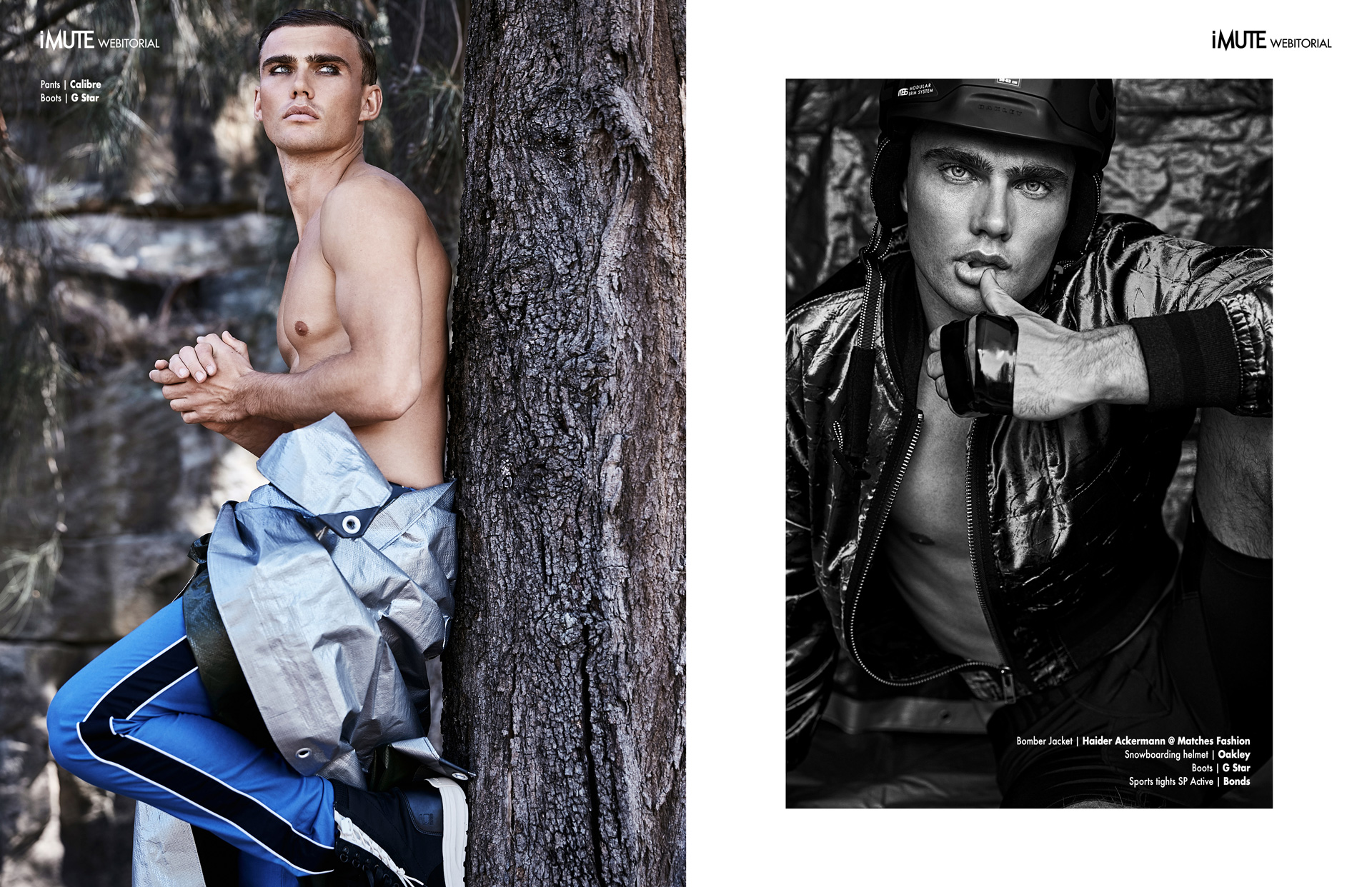 JOURNEYMAN webitorial for iMute Magazine Photographer|Peter Brew Bevan @ work:agency Model| Jordan Barron @Chic Management Stylist|Emma Cotterill Grooming|Chris Arai @ Talentland