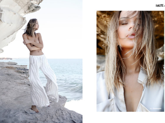 LAZY DAYZ webitorial for iMute Magazine Photographer Vincent Fahey Model  Jana Jung @Priscillas Models Stylist Vincent Fahey