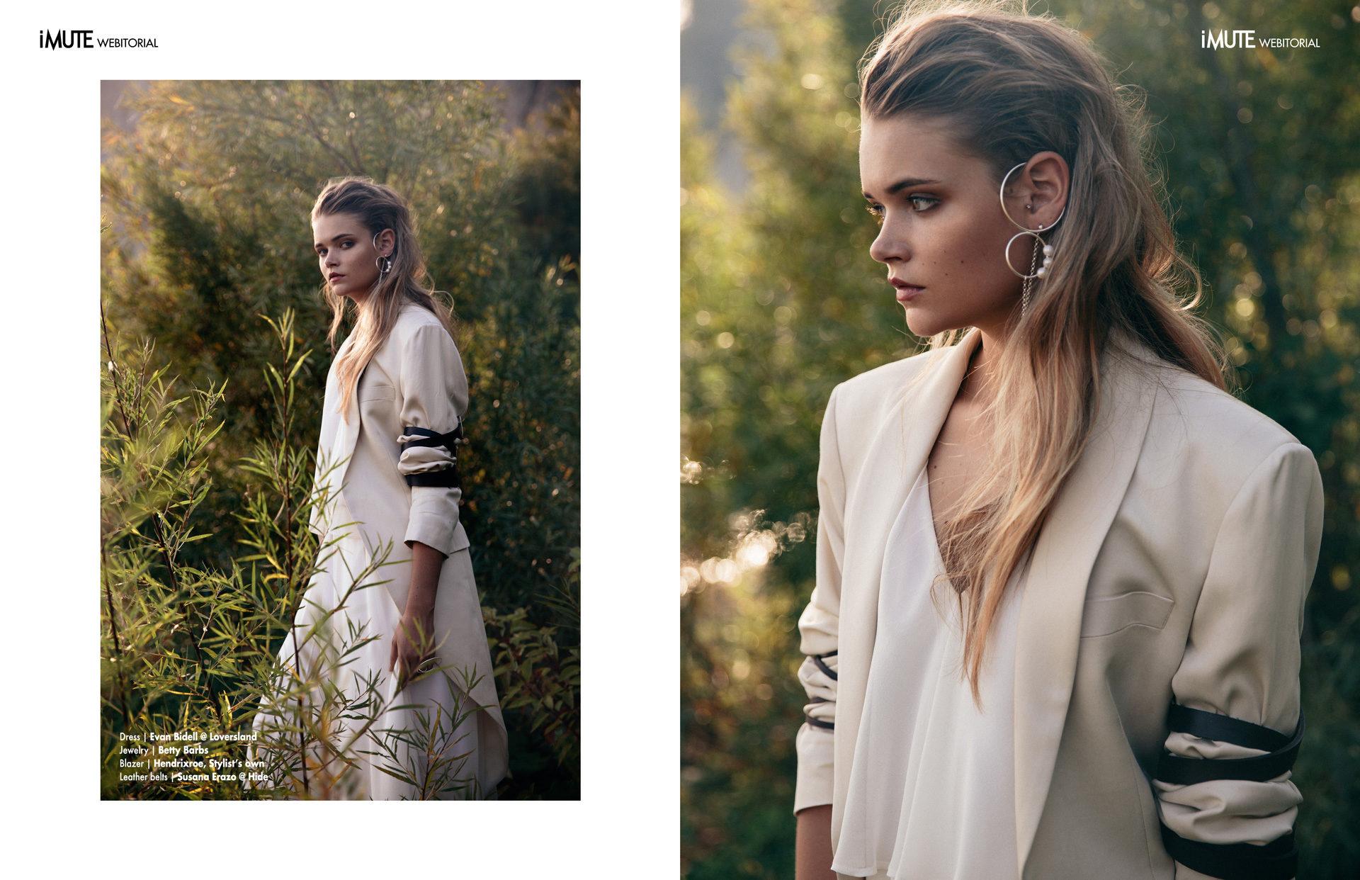 Linger webitorial for iMute Magazine Photographer|Peter Nguyen Model| Ashley Dunnington @Elite Toronto Stylist|Lea Krpan Makeup|Christina Nguyen Hair|Erika Fung