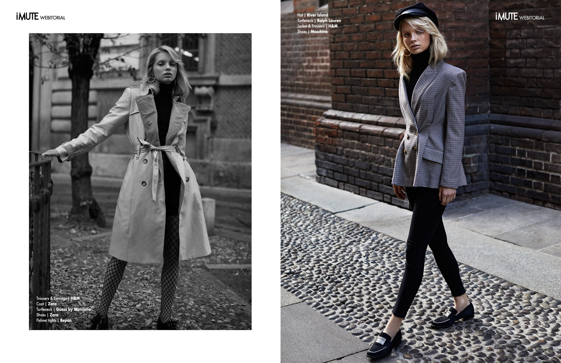 November Graduate webitorial for iMute Magazine Photographer|Alexandra Rymsinova Model| Maria Zachariassen @MP Model Management Milano Stylist|Barbora Yurkovic Makeup & Hair|Alessandra Semisa