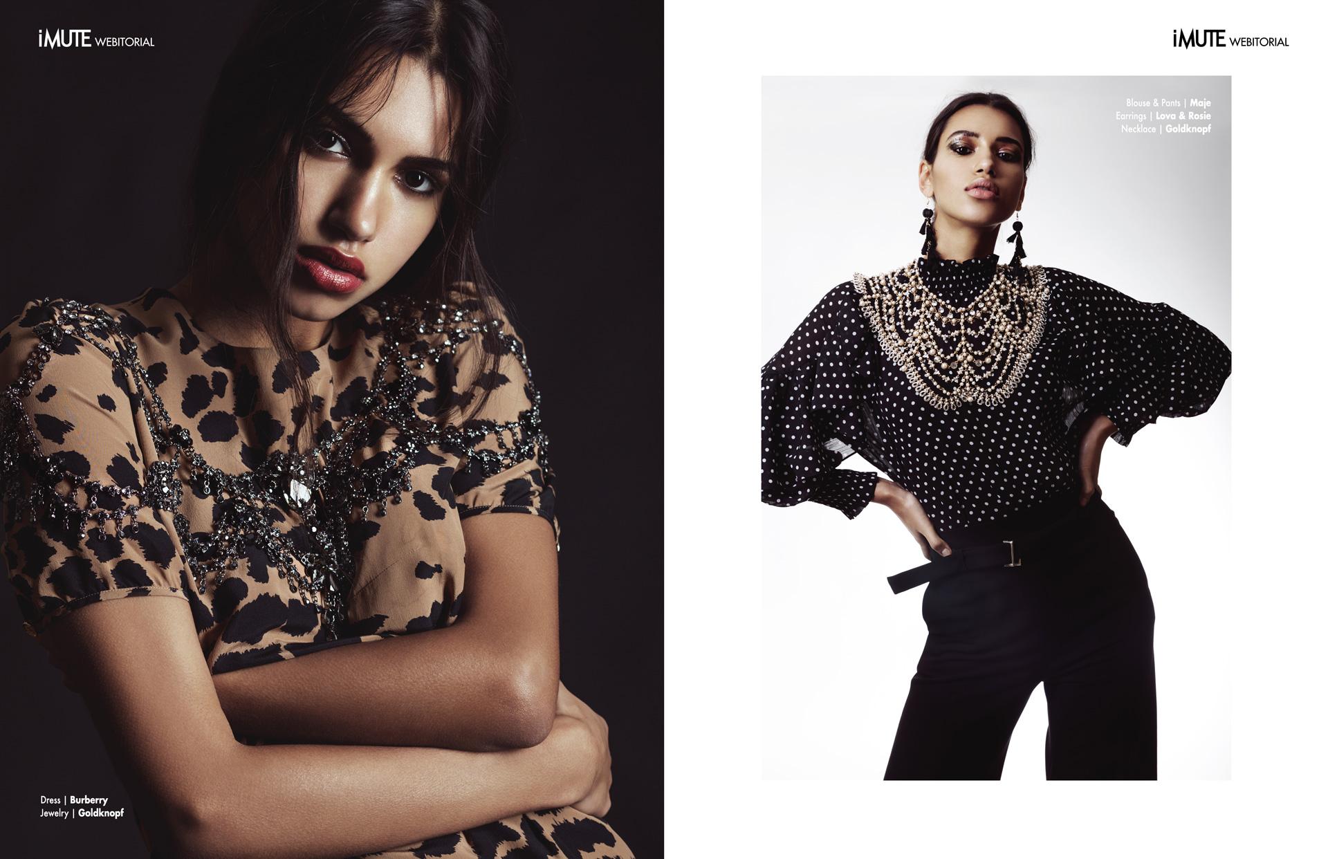 Chiara webitorial for iMute Magazine Photographer|Silke Schlotz @ Silke Photo Model| Chiara S. @Mega Models Stylist|Isabelle Barsch Makeup & Hair|Suzanna Santalab