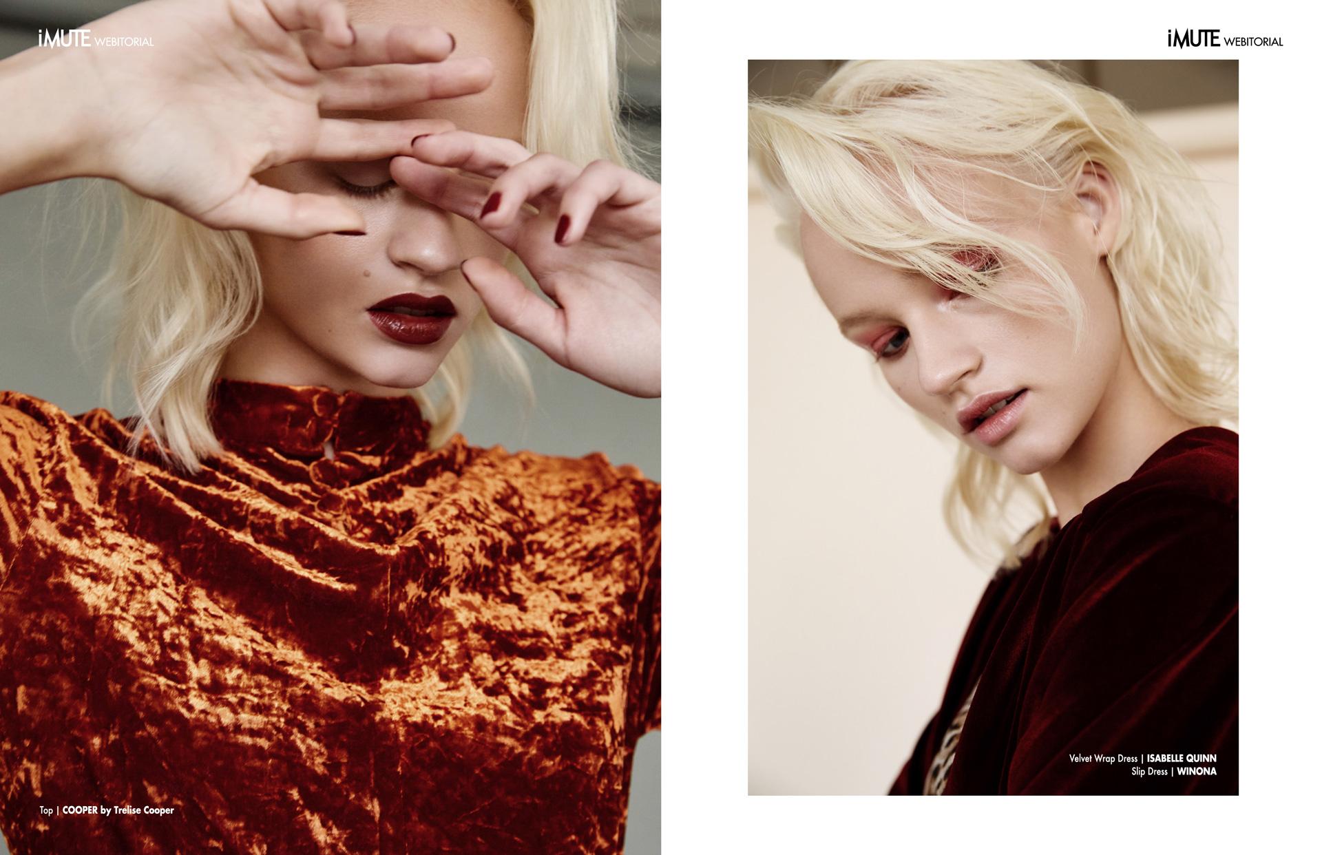 from Denmark with love webitorial for iMute Magazine1  Photographer|Carlo Fernandes Model| Cecilie Heide @Chadwicks Stylist|Lauren Jones Makeup|Kelly Bowman@Reload Agency Hair|Darren Summors