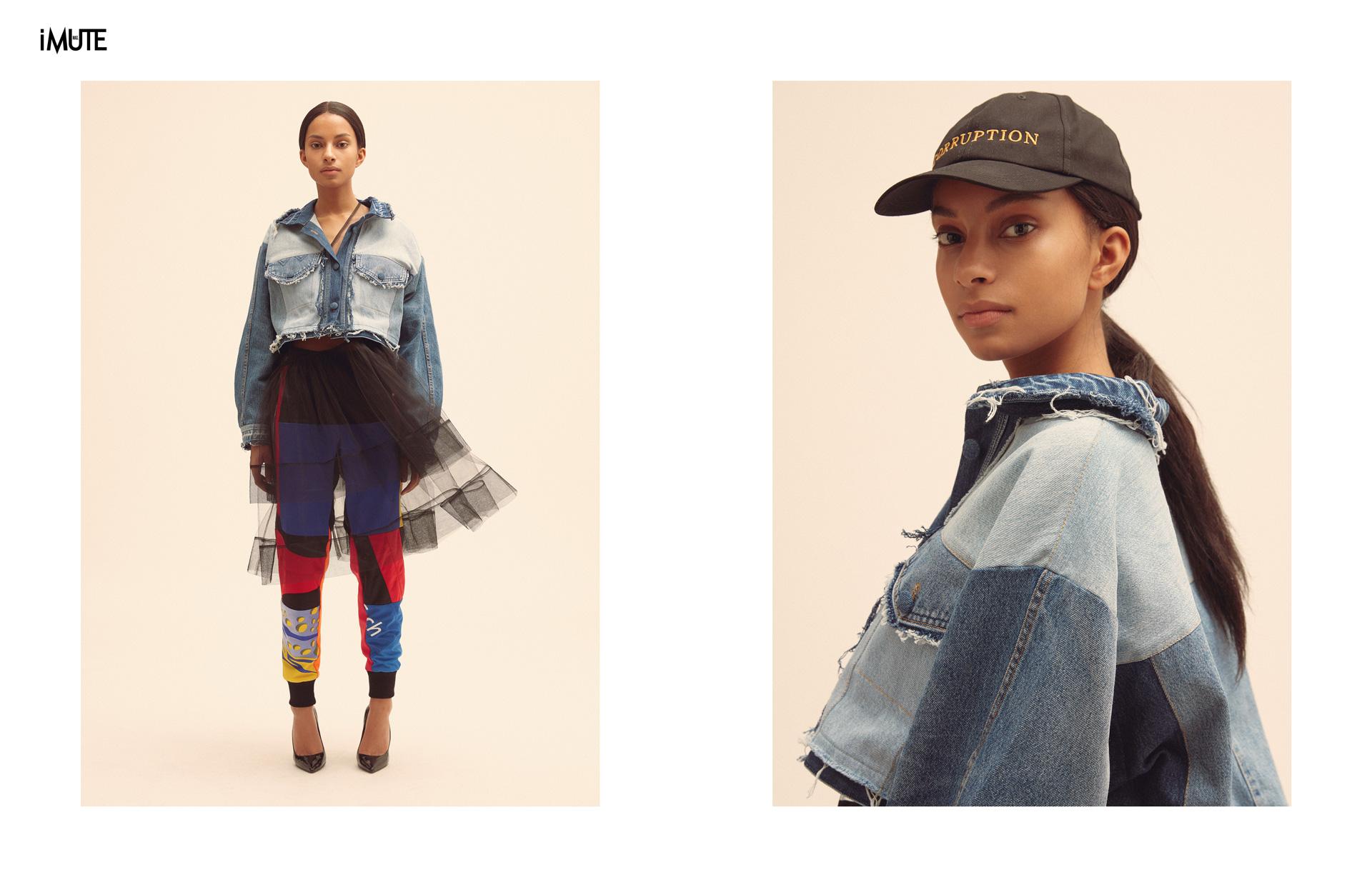 The Reworked Denim Known Label Ksenia Schnaider is Launching Pre-Fall'18 Photographer|Anna Daki @ Klaus Stiegemeyer Model| Winnie @Seeds Management Makeup & Hair|Kim Keusen