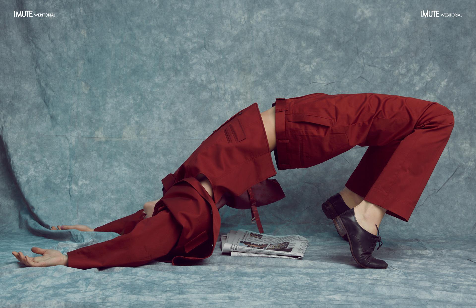 News webitorial for iMute Magazine Photographer Fernando Paz Model  Katya Kulyzhka @Women / 360 Management Stylist Odile Iturraspe Makeup Ann Gior Hair Takashi Shinoda