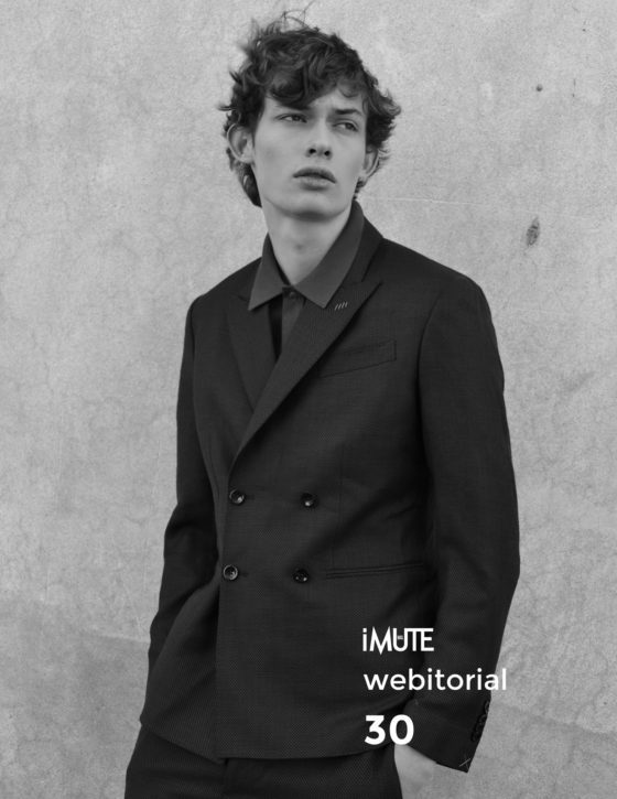Isaac webitorial for iMute Magazine Photographer & Stylist | Simone Siel Model | Isaac Main @ Trend Models