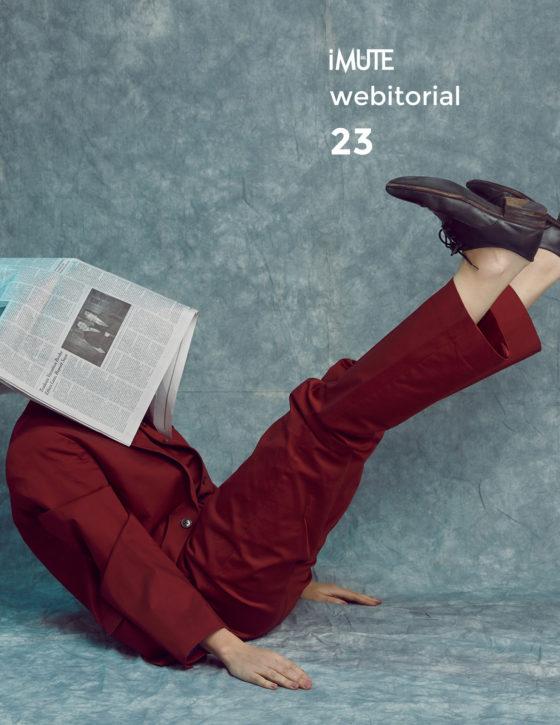 News webitorial for iMute Magazine Photographer|Fernando Paz Model| Katya Kulyzhka @Women / 360 Management Stylist|Odile Iturraspe Makeup|Ann Gior Hair|Takashi Shinoda