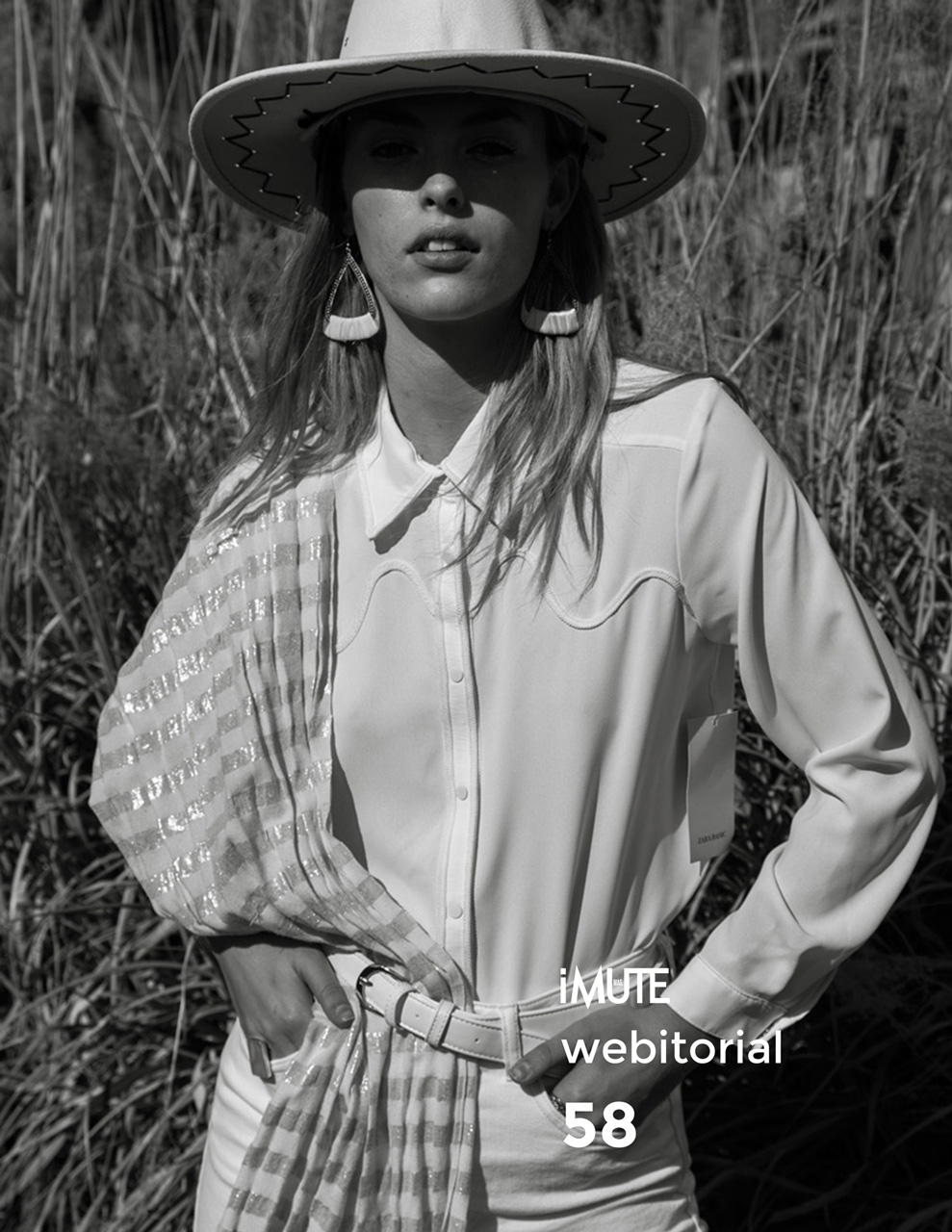 Sophie webitorial for iMute Magazine Photographer   Selim Soysal Model   Sophie @ Blow Models Stylist   Carolina Levesque Makeup & Hair   Maria Angela Sanchez Pagan