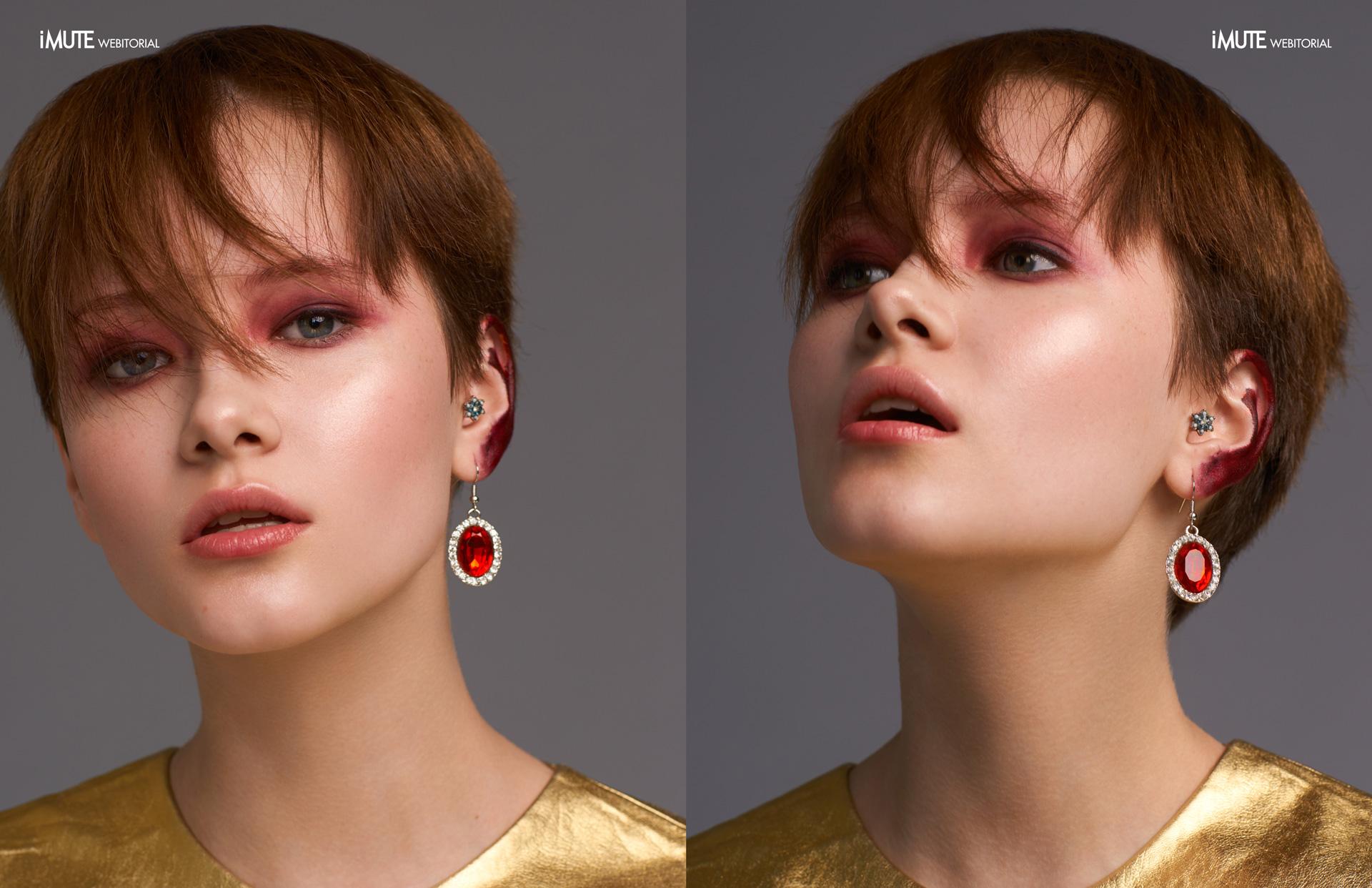 Anna webitorial for iMute Magazine Photographer Anna Kirikova Model  Anna @Rush Models Stylist Varya Kuzmina Makeup & Hair July Plotnikova