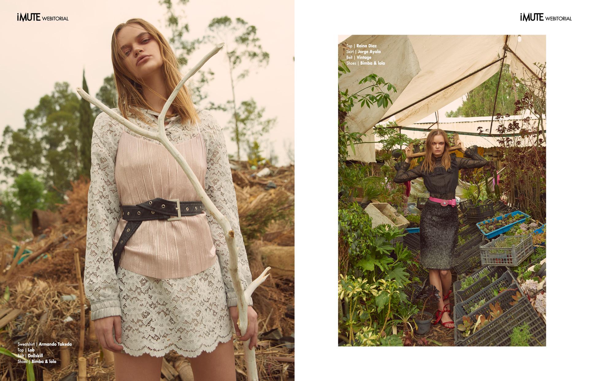 Greenhouse effect webitorial for iMute Magazine Photographer | Ramon Arana Model | Olga Zi @ New Icon Model Management Stylist | Diego Ibañez Makeup | Jesus Palencia