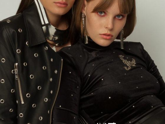 Sophia & Ava webitorial for iMute Magazine Photographer | Kamilla Musland Models | Sophia B @ Viven's Model Management & Ava Coffen @ The Mgmt Stylist | Kat Arnott Makeup & Hair | Stefania De Vecchi Studio | Daylight Studios