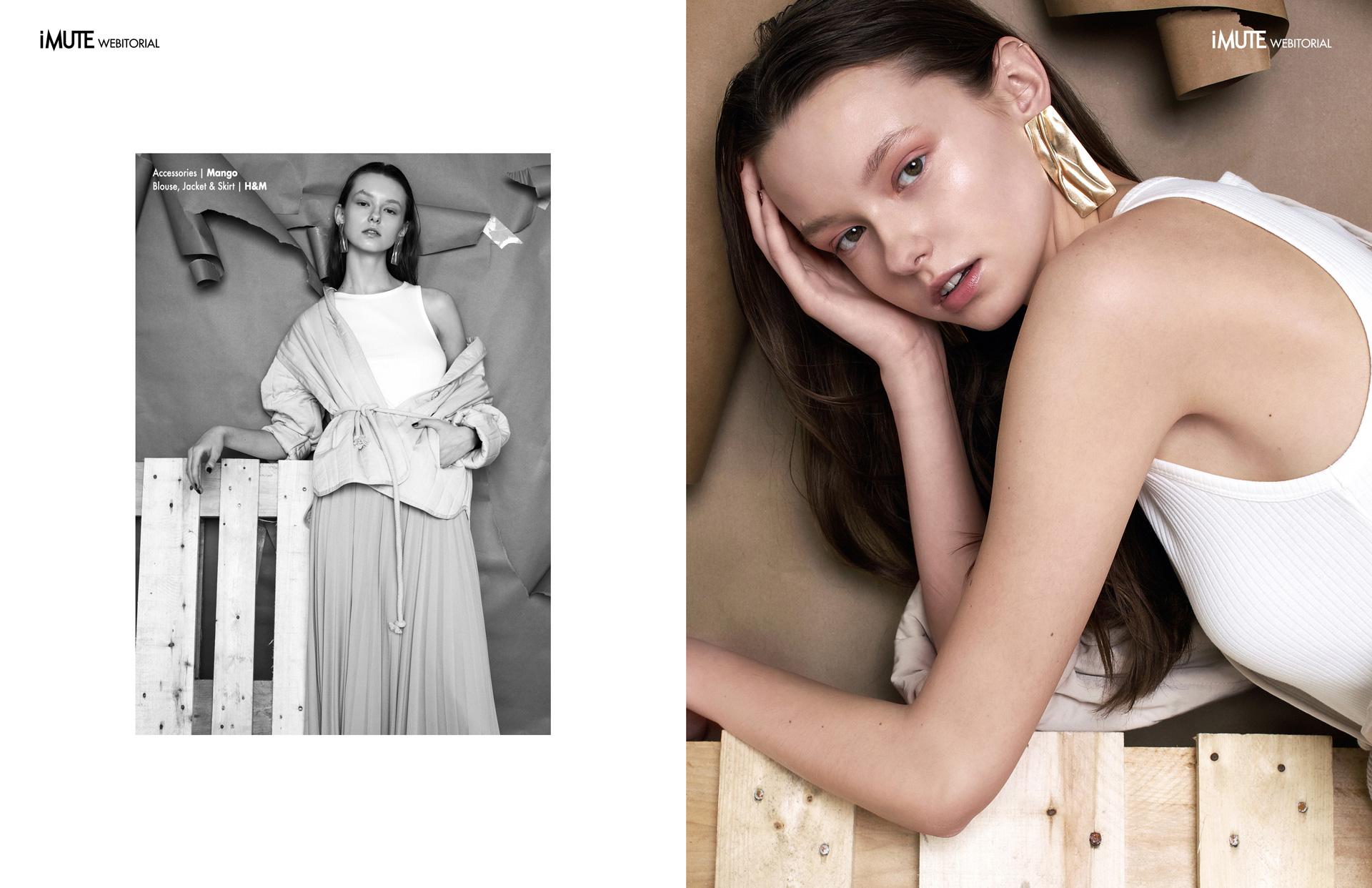 EWA webitorial for iMute Magazine Photographer   Vaidas Jokubauskas Model   Ewa Borowska @ Ruta Model Management Stylist   Simona Senkauskaite Makeup   Kristina Raulinaityte