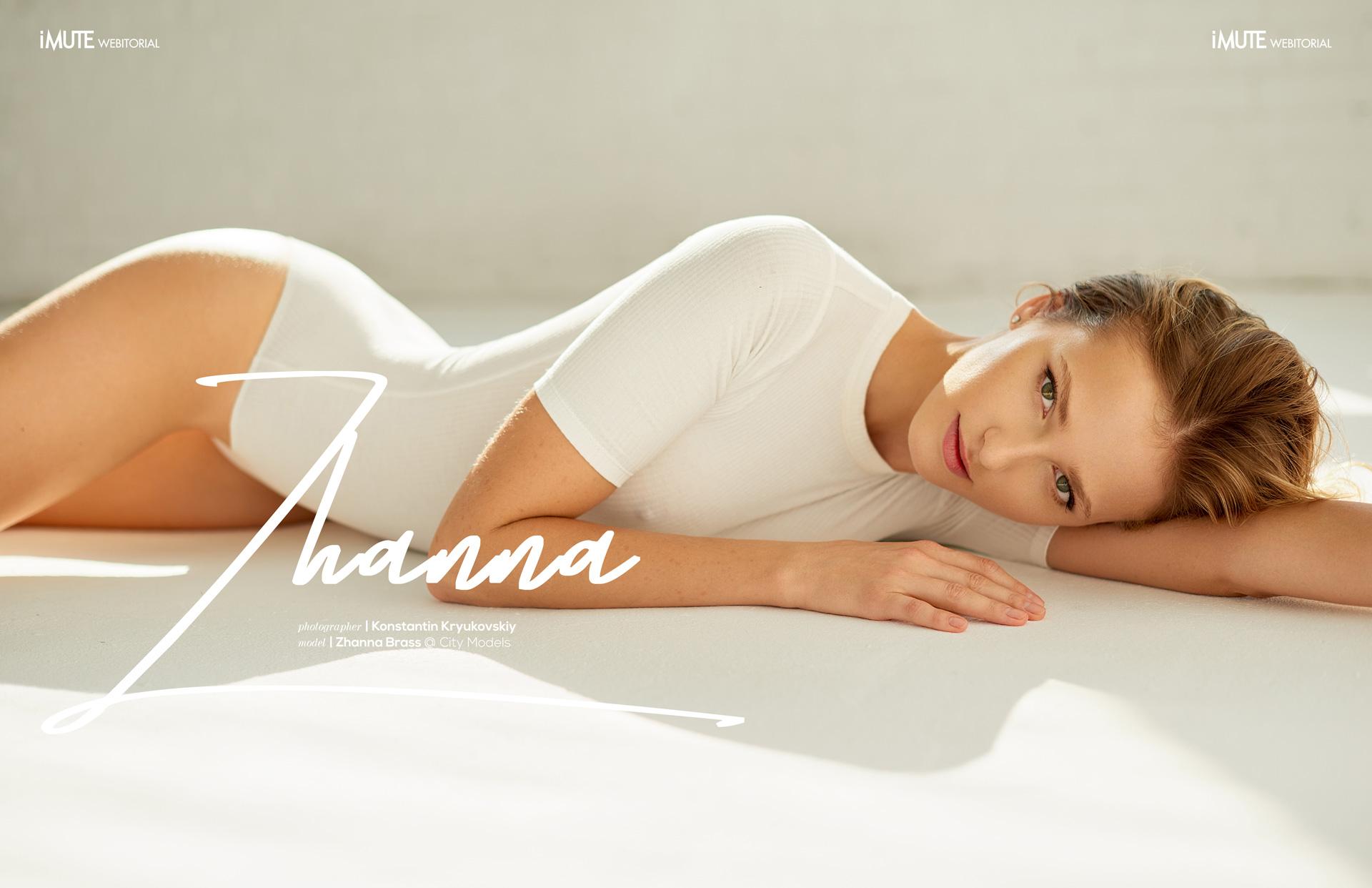 Zhanna webitorial for iMute Magazine Photographer | Konstantin Kryukovskiy Model | Zhanna Brass @ City Models