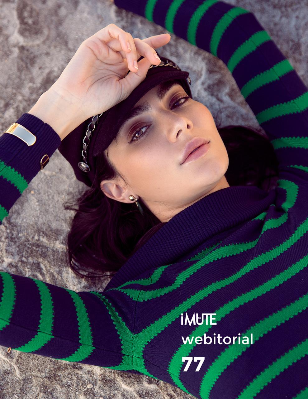 Claudia webitorial for iMute Magazine Photographer | Lucy Kinnen Model | Claudia Herro @ Chadwick Models Stylist | Czarina Argel Makeup & Hair | Claudia Spirou