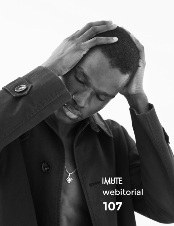 # MAMADOU LO webitorial for iMute Magazine Photographer | BenFourmi Model | Mamadou Lo @ Elite Paris Stylist | Marie Revelut Studio | A Ciel Ouvert Studio