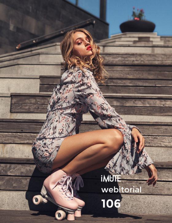 Roller Girl webitorial for iMute Magazine Photographer|Markus Oskarsson Model| Carolina E @Le Management Stylist|Nicole Sascha Makeup & Hair|Camilla Järvås