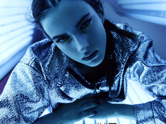 Ultraviolet webitorial for iMute Magazine Photographer Konstantin Borysenko Model  Bogdana Nevodnik @2amodels Stylist Tetiana Shestorkina Makeup Margarita Hait Hair Tanya Belik