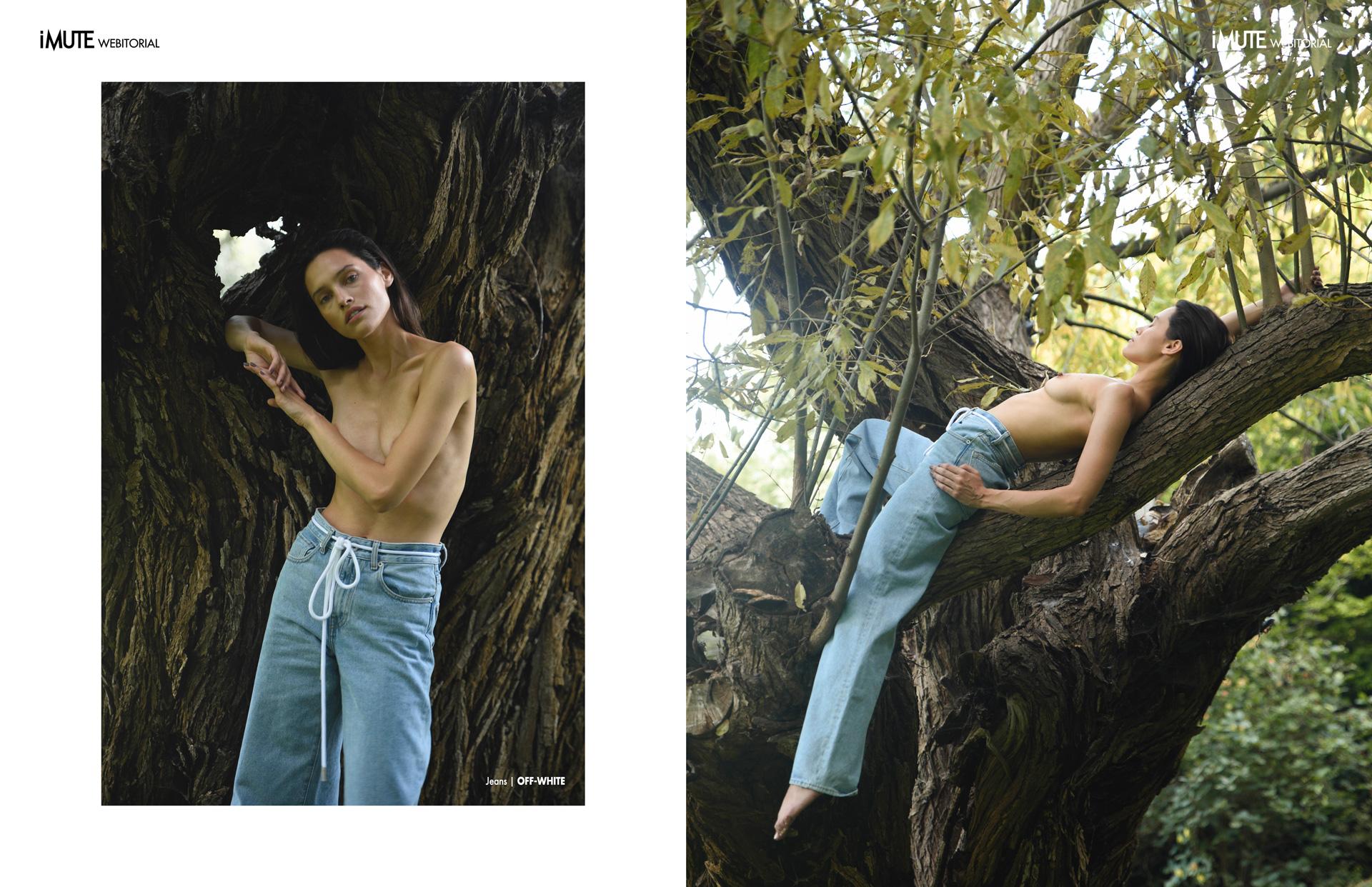 Hanna webitorial for iMute Magazine Photographer|Dorota Porębska Model| Hanna Juzon @Elite Model Management