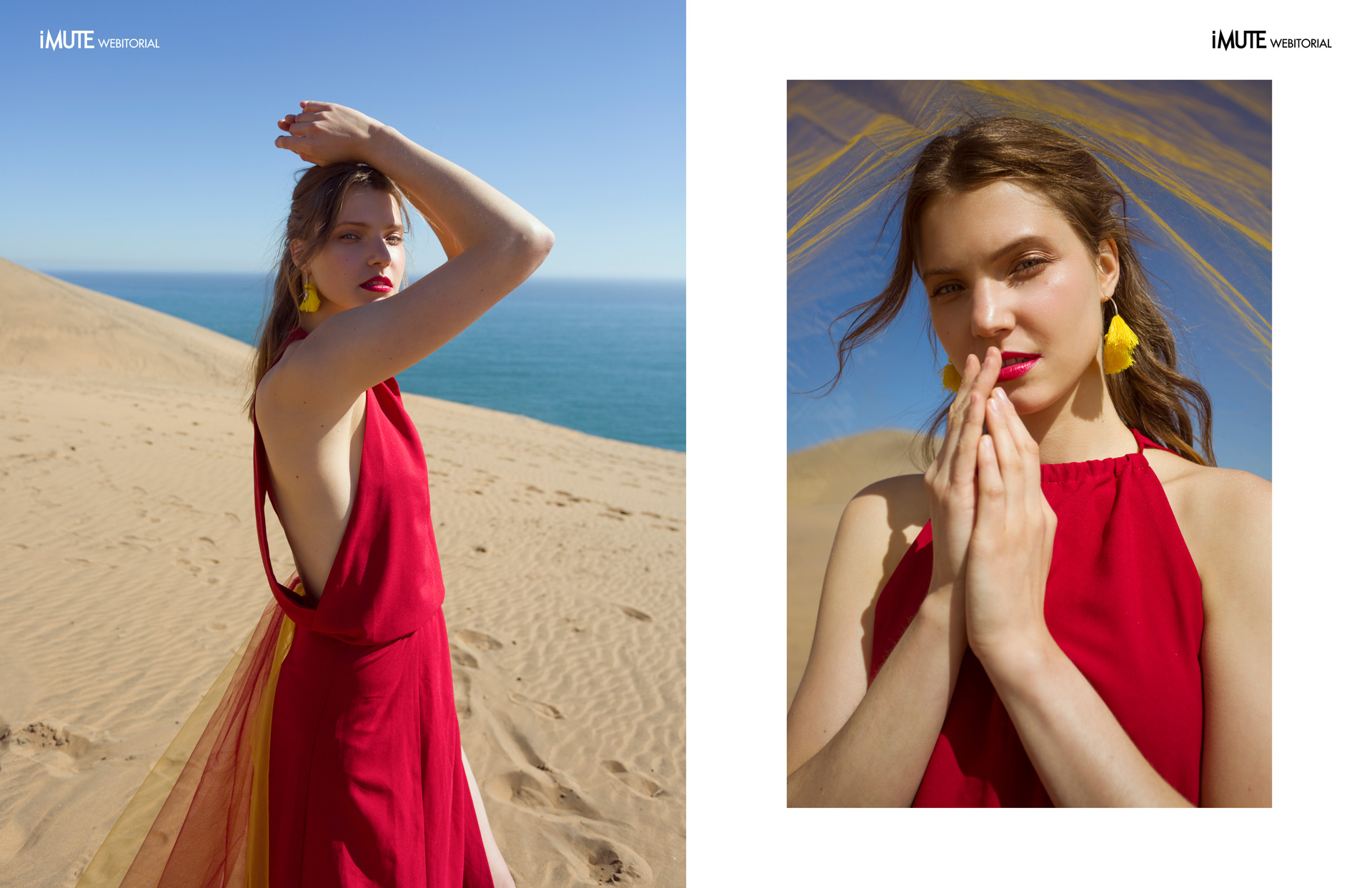 High by the beach webitorial for iMute Magazine Photographer|Alina Oteiza Model| Anna Gryzlova @We love models Chile Stylist|Diego Isaac Makeup & Hair|Estefany Contreras Photo Assistant|Erik Miranda Clothes|Youth Revolt Earrings|DUO