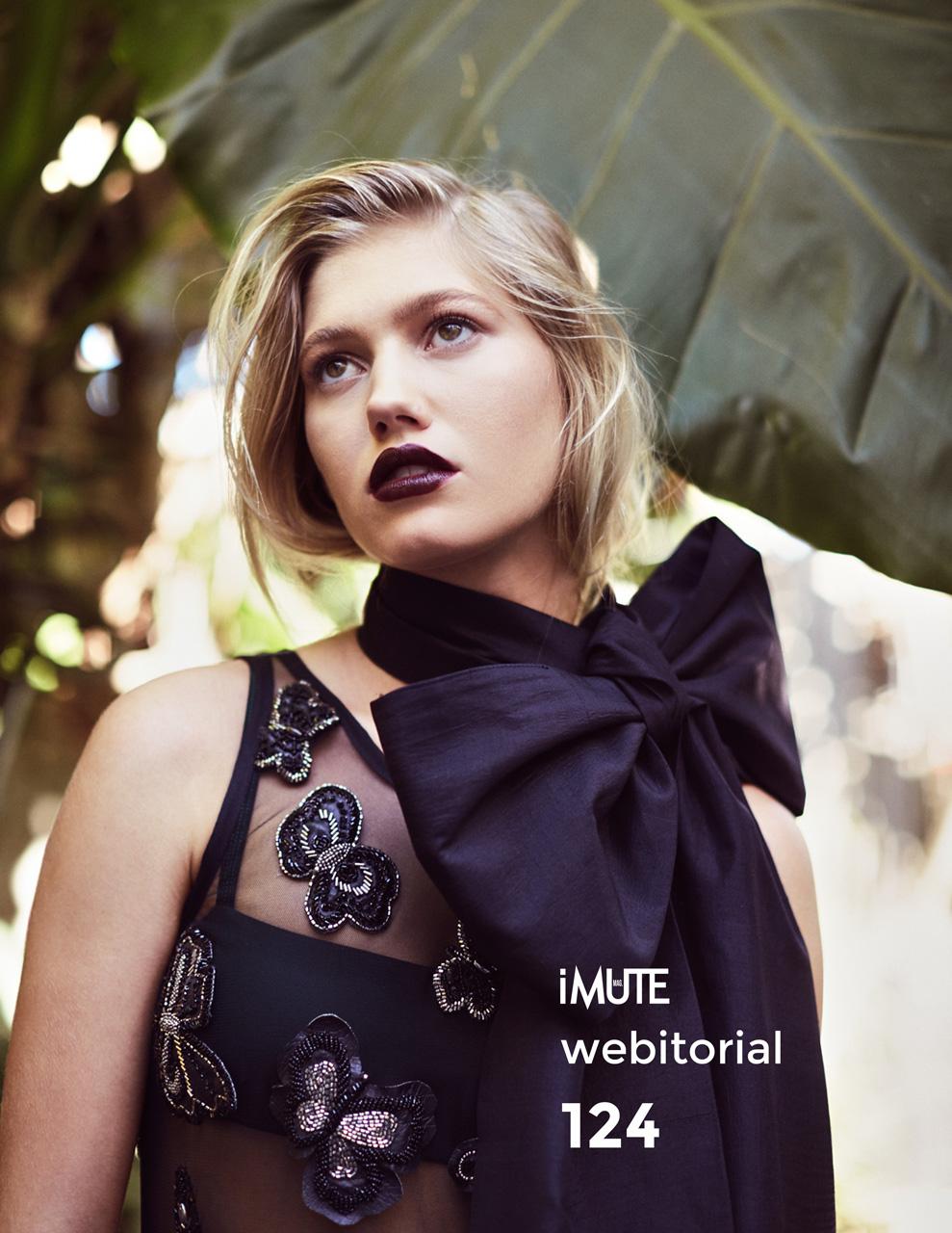 Greta webitorial for iMute Magazine Photographer|Anastasia Fua Model| Greta @Vivien's Models Stylist|Emma Cotterill @ Reload Agency Makeup & Hair|Rachelle Facelo