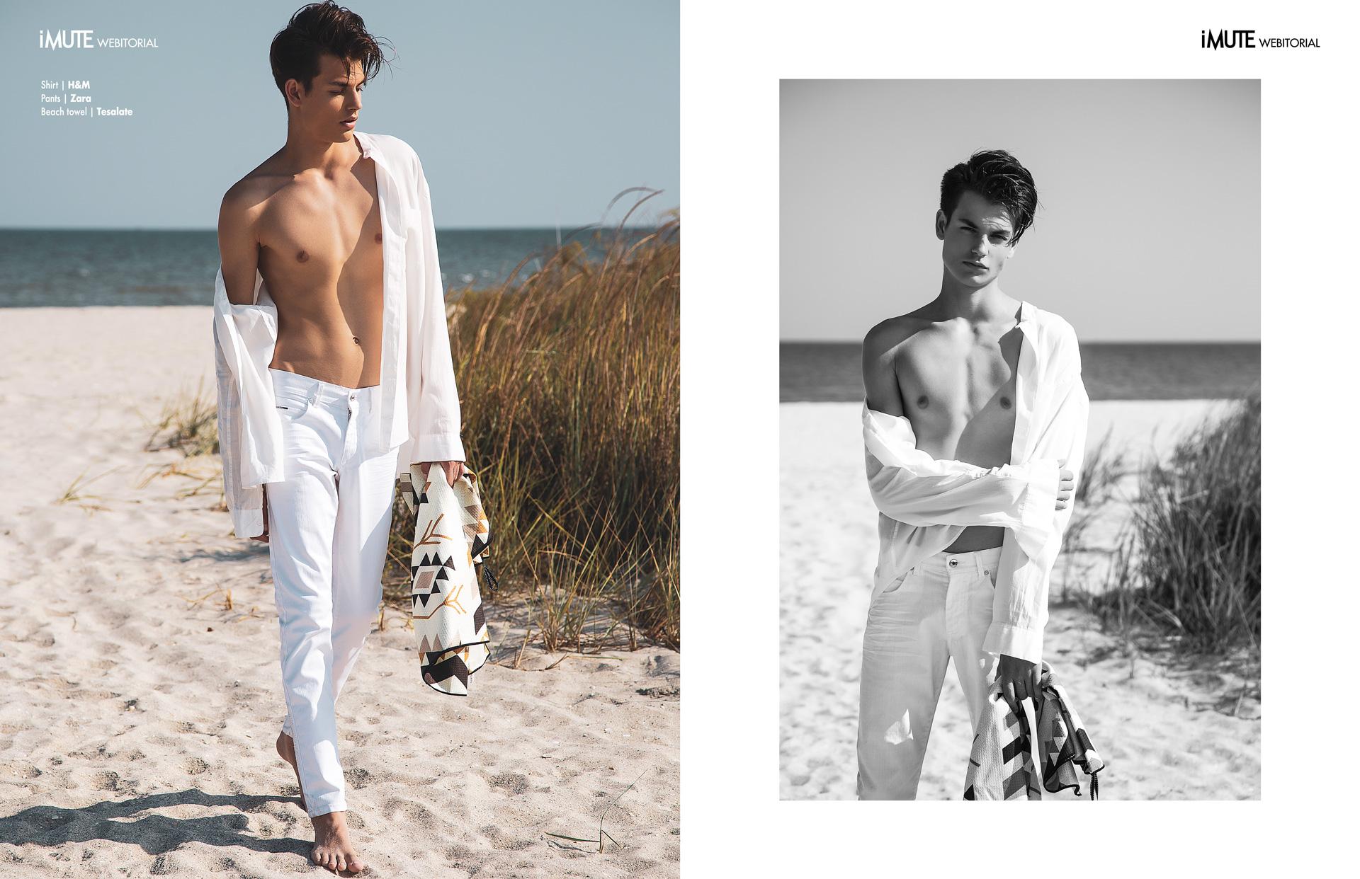 Quicksand webitorial for iMute Magazine Photographer Ionut Cojocaru Model  Vlad @MRA Models Stylist Alina Ababei Makeup Ioana Popa Production MRA Production