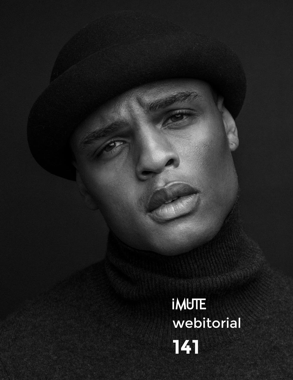 Isaiah webitorial for iMute Magazine Photographer Jeff Rojas Model  Isaiah Hamilton @UModelsNYC Stylist Mike Stallings